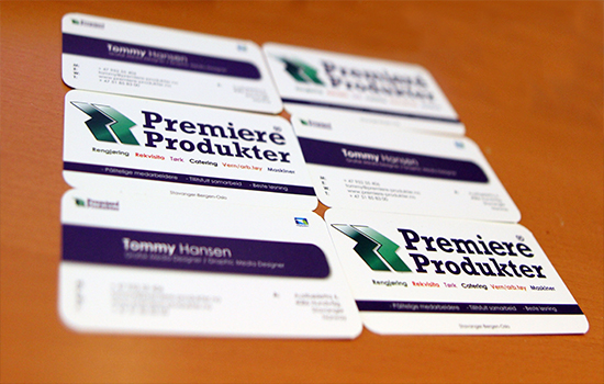 Business Cards for Premiere Products
